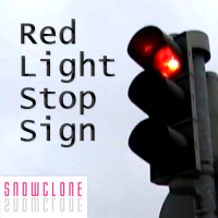 Red Light Stop Sign